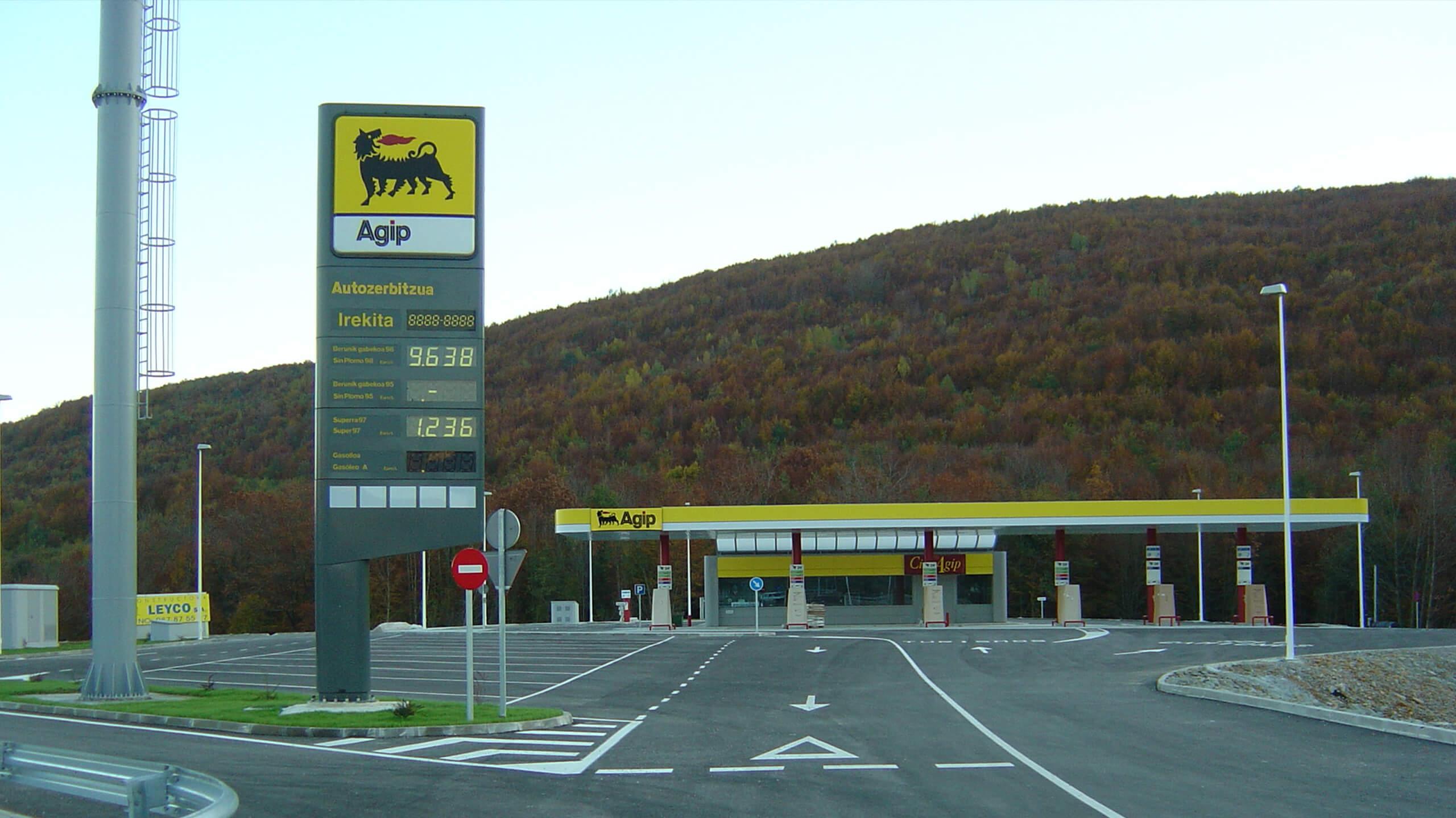 Construcción gasolinera Leyco SA